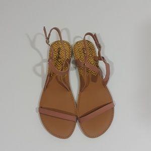 Beige sandals size 8 custom bundle @jessjordan84